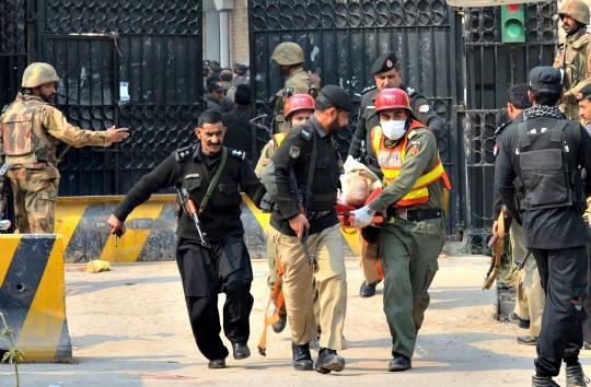Militants Storm Key Govt Office in Peshawar
