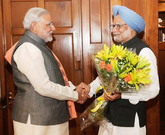 Modi Meets PM, Trumps Ratan Tata in SRCC