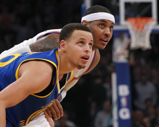 Knicks Withstand Curry to Beat Warriors
