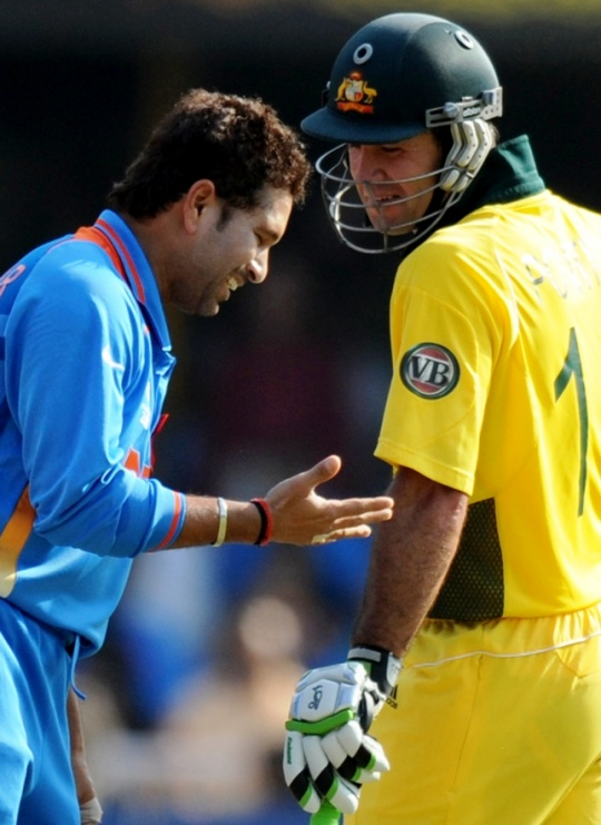 Tendulkar 'Perfectly Happy' With Ponting as Mumbai Indians Skipper