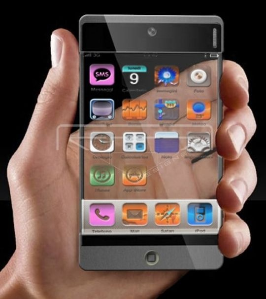 transparent phone