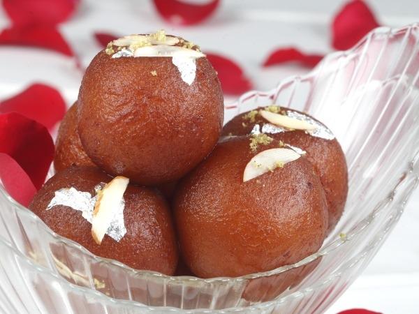 Healthy Gulab Jamun Recipe