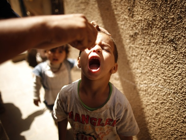 India Ups Polio Immunisation At Borders To Prevent Re-Entry