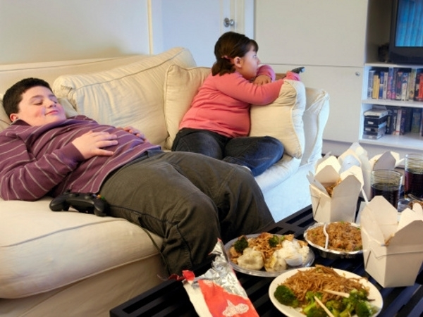 No Exercise, More than Lying around, Tied to Fat in Kids