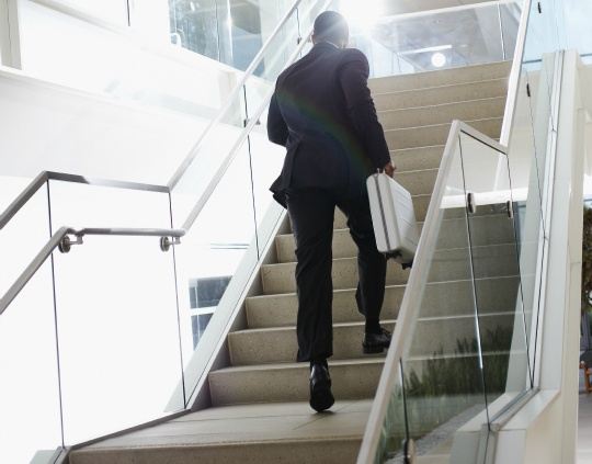 Taking Stairs As Good As a Trip to the Gym