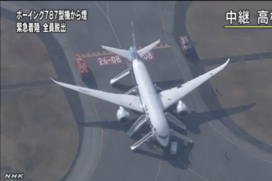 Japan Grounds Dreamliners, India Reviewing Safety