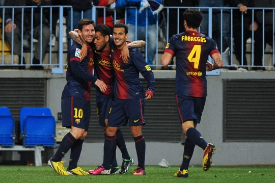 Barca Set Up King's Cup Semis With Real