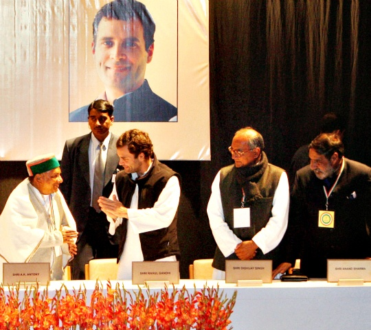 Congress Leaders Pitch for Rahul as PM Candidate