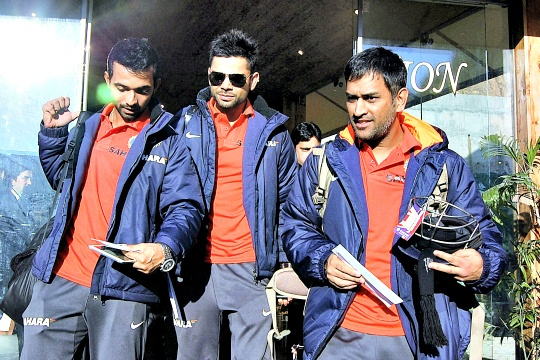 Dhoni Seeks a 'Pool' for 2015 World Cup