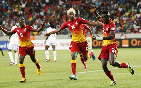 Ghana Shine to Reach Africa Cup Last 8