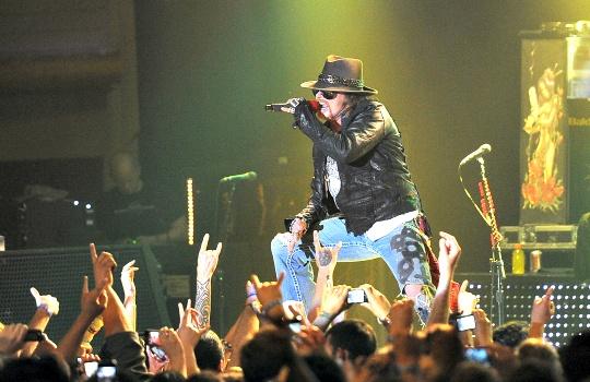 Guns N' Roses to Release 3D Concert Film