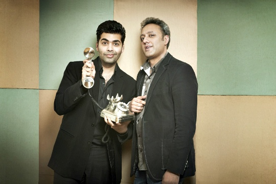Karan Johar and Varun Bahl