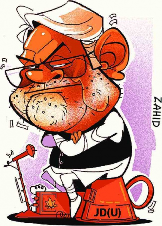 Poor? Nitish Kumar has only Rs.14,475 in cash!