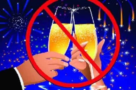 No Bubbly This Weekend Because of Republic Day