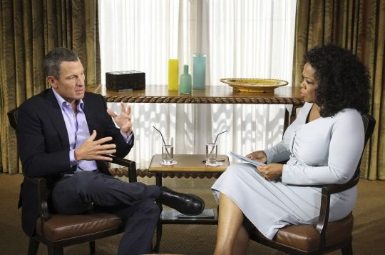 Lance Armstrong Says 'sorry,' Accepts Blame For Doping