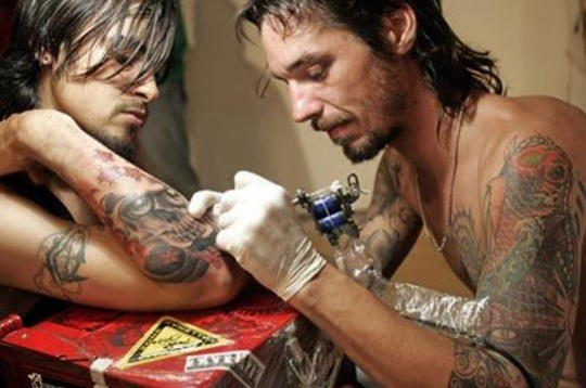 Tattooing Could Lead to Hepatitis C
