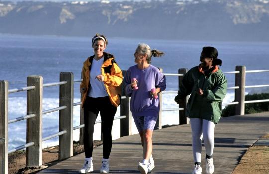 Walking Wards Off Stroke for Women