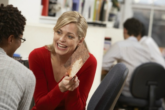 Women More Confident at Work Wearing Red