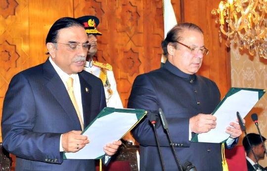 Asif Ali Zardari, Nawaz Sharif