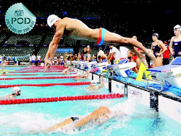 Pic Of The Day: Ryan Lochte's Water Magic