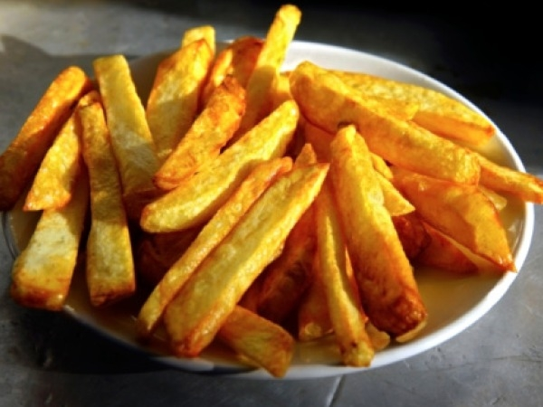 Healthy Snacks: Baked French Fries