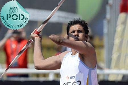 Pic Of The Day: Devendra Jhajharia's Historic Golden Throw In IPC