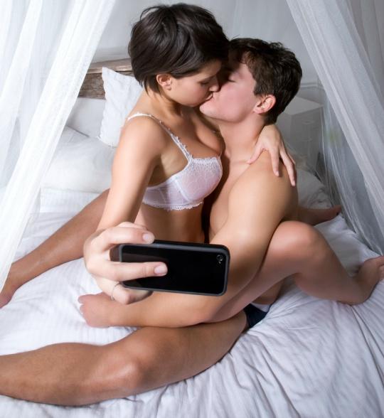 Phone Sex While Fucking