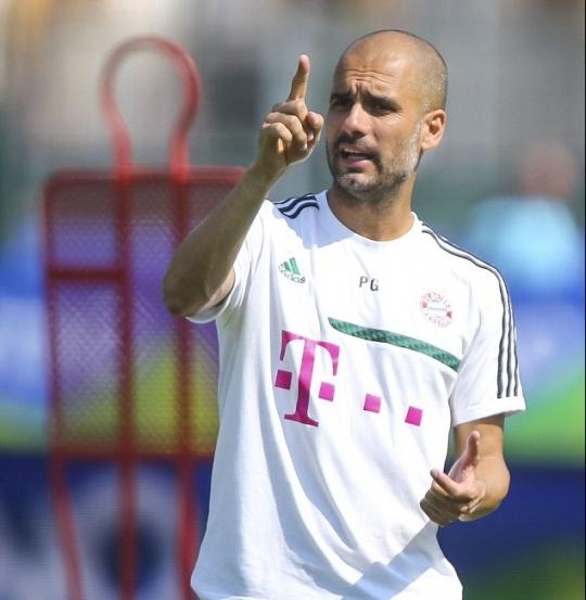 Pep Thinks of Tito After Bayern Debu