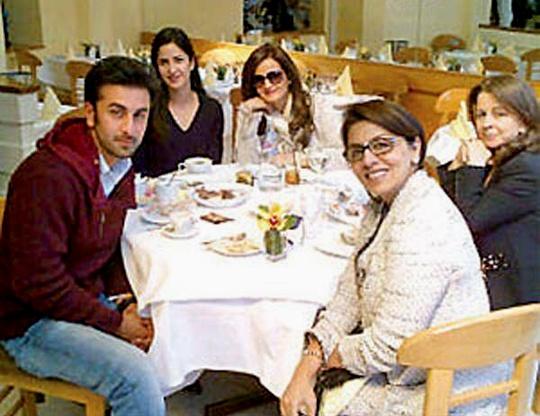 Ranbir, Katrina, Neetu Singh