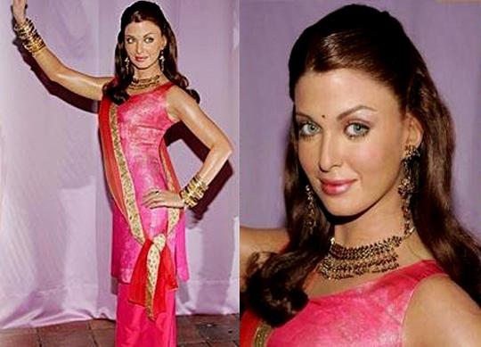 Aishwarya Rai Bachchan's Wax Statue