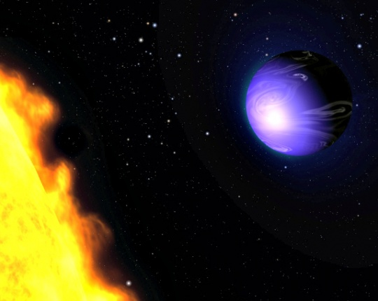 Astronomers Find A Planet As Blue As Earth