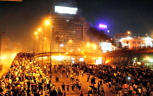 Clashes Return to Streets of Cairo
