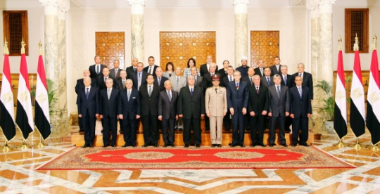 New Cabinet Takes Oath in Egypt