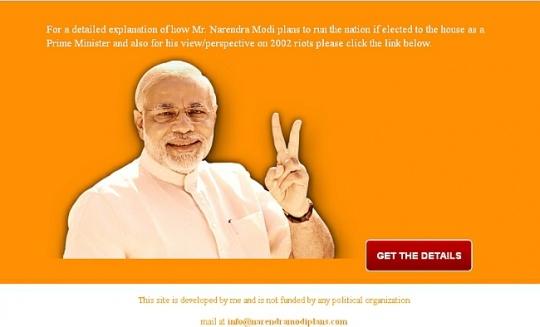 Narendra Modi Plans