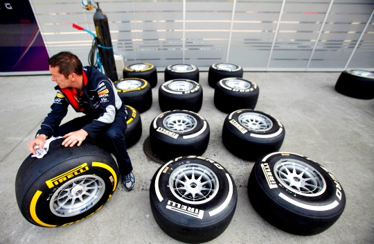 F1 Introduces Stronger Rear Tyres in Germany