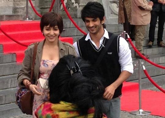 Anushka Sharma, Sushant Singh Rajput in Peekay