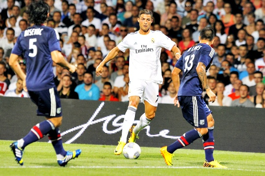 Real Madrid Fight Back to Draw at Lyon