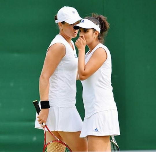 Sania Mirza and Liezel Huber
