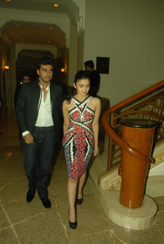 Arjun Kapoor, Alia Bhatt