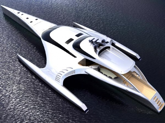 Anton Marden's iPad Controlled Superyacht