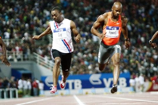 Tyson Gay, Asafa Powell Fail Dope Tests