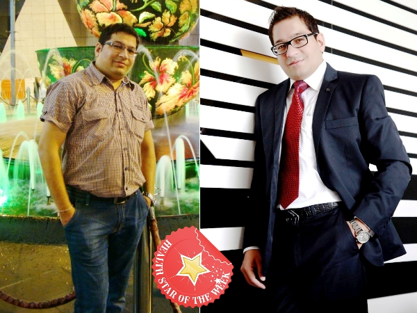 Health Star Of The Week: Roopak Jain's Formula For Weight Loss