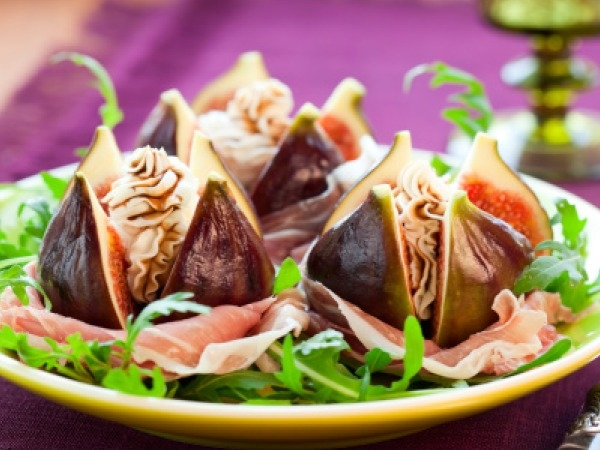 Healthy Foods: Figs with Goat Cheese Recipe