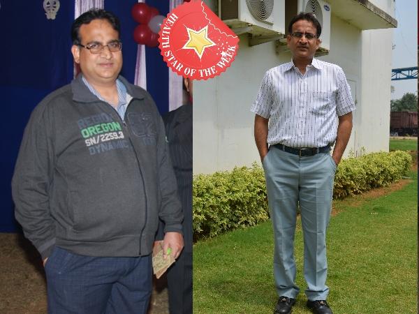 Health Star Of The Week: Ravi Wadhawan's Yoga-Diet  Way To Weight Loss