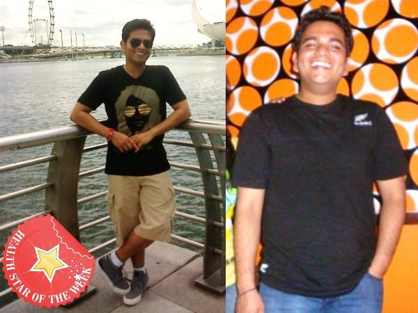 Health Star Of The Week: Ankit Sachdeva Fights Hypothyroidism And Junk Food