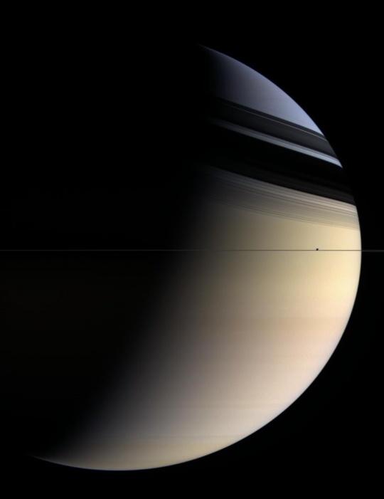 Saturn stitched together