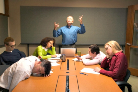 How to Survive Boring Office Meetings