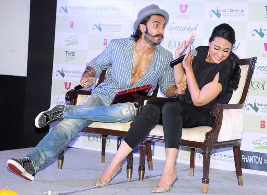 Ranveer Singh, Sonakshi Sinha