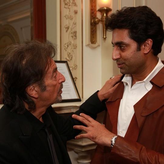 Abhishek Bachchan With Al Pacino