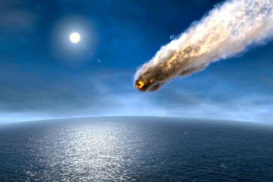 Life-Producing Phosphorus Carried to Earth by Meteorites